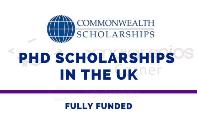 Commonwealth PhD Scholarships in the UK [Fully Funded]