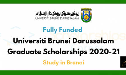 Graduate Scholarships at the Universiti Brunei Darussalam [Fully Funded]