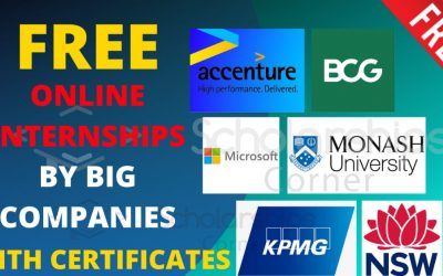 Free Online Internships with Certificates 2020 | Virtual Internships | InsideSherpa