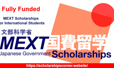 MEXT Scholarship 2021 – Japanese Government Scholarship [Fully Funded]