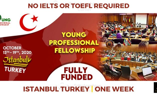 MAPS Young Professional Fellowship 2020 in Turkey [Fully Funded]