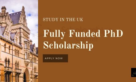 Fully Funded PhD Scholarship in the UK 2020   Research Scholarships