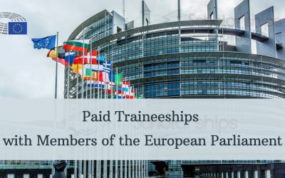 Paid Traineeships with Members of the European Parliament