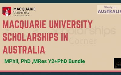 Macquarie University Scholarships in Australia 2021 [Fully Funded]