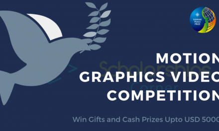 Peace Motions Graphics Competition 2020 [Win up to $5000]