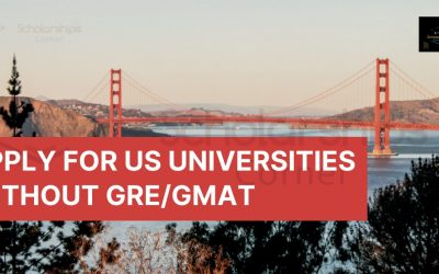 Apply for US Universities without GRE and GMAT | Study in the USA