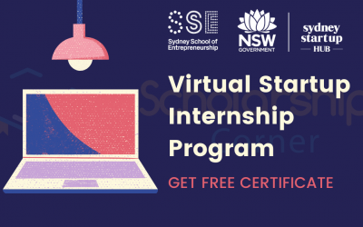 Virtual Startup Internship Program 2020 | Summer Virtual Internship