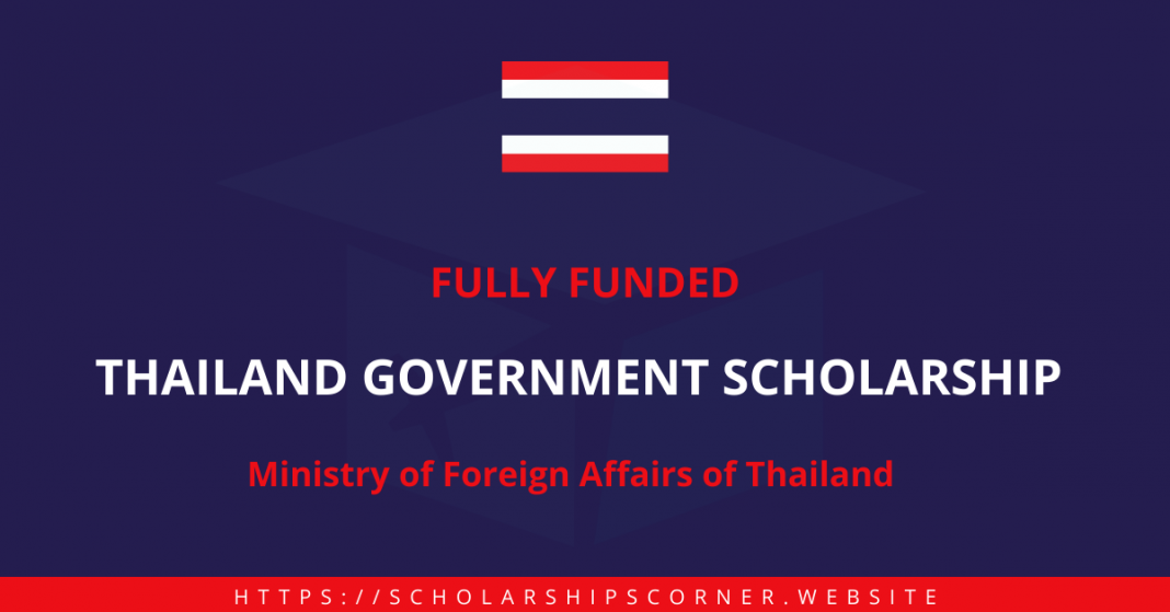 Thailand Government Scholarship