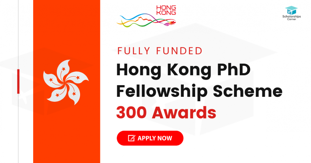 Hong Kong PhD Fellowship Scheme 2021