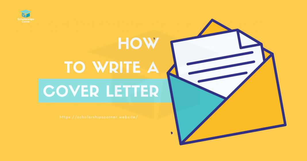 How to Write a Cover Letter? | Scholarships Corner